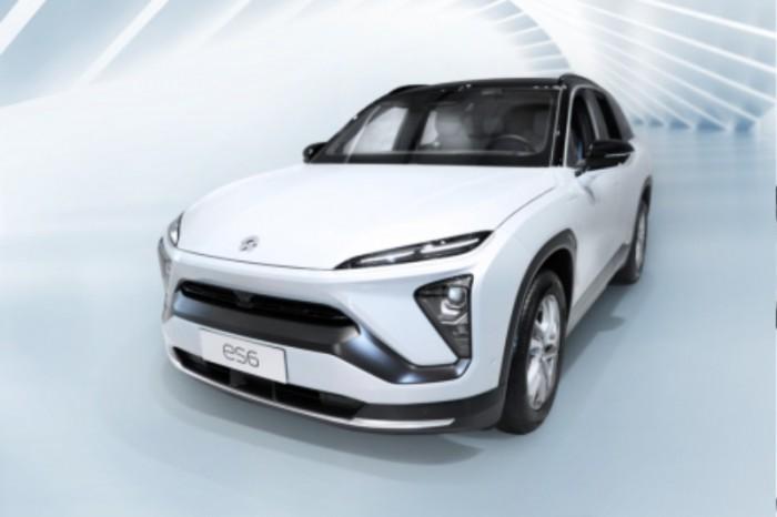 [사진자료] 중국 전기차 기업 니오 SUV